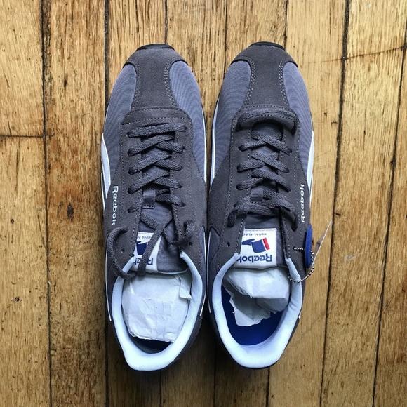 e6a240294fc Reebok Royal Dash Urban Grey White Men s Shoes